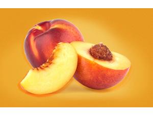 Peach puree single strength