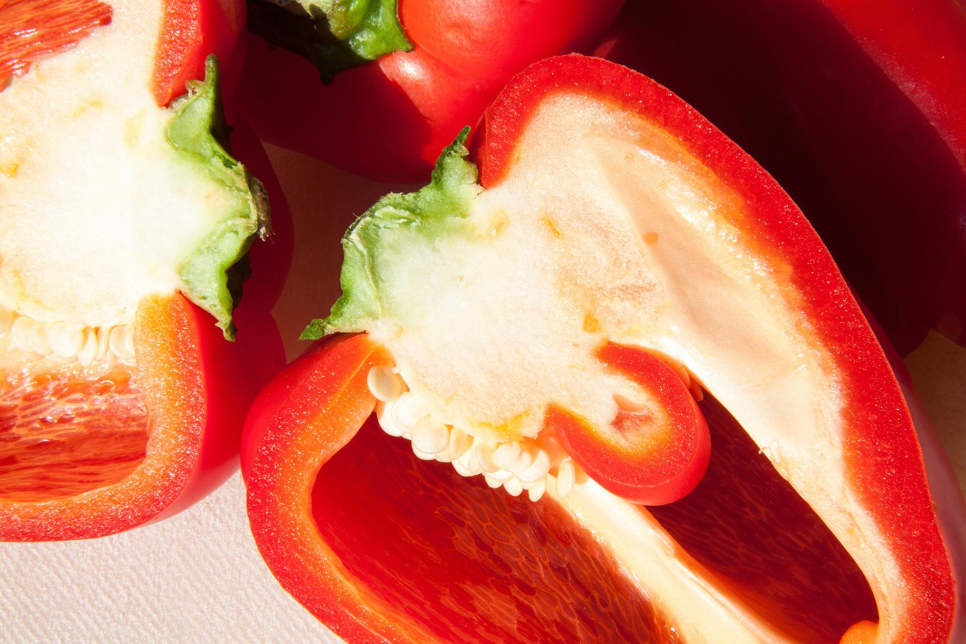 red pepper puree