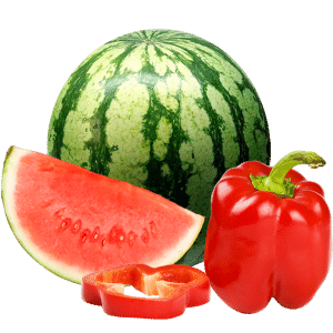watermelon and red pepper concentrate