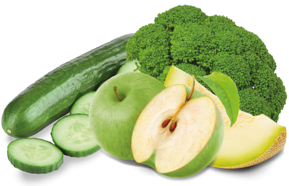 Green apple, Broccoli, Cucumber & Honeydew Melon Concentrate