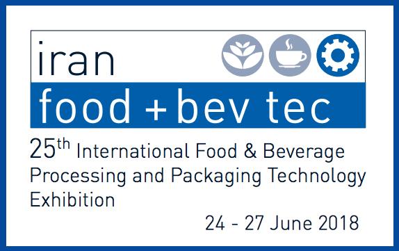 Iran Food+Bev Tech Fair 2018