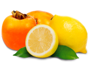 kaki and lemon filling